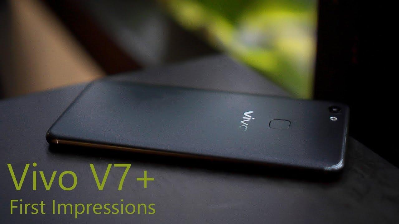 Vivo V7 First Impressions